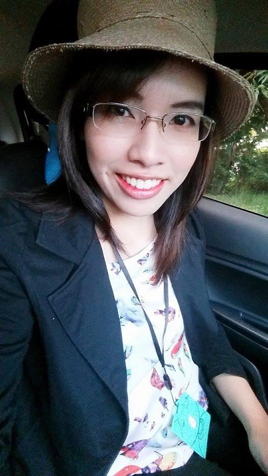 泰國女孩與大甲草帽2