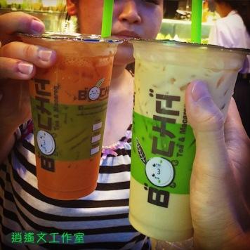 飲料冰淇淋與泰國女孩00001