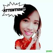 line ycon sticker w00016