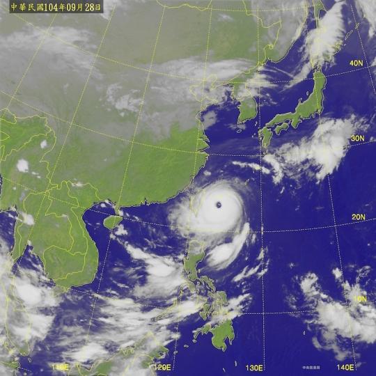 2015-09-28 杜鵑颱風