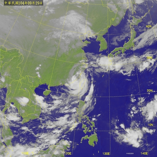 2015-09-29 杜鵑颱風