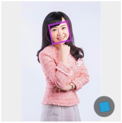 人臉偵測資訊 Face++ website