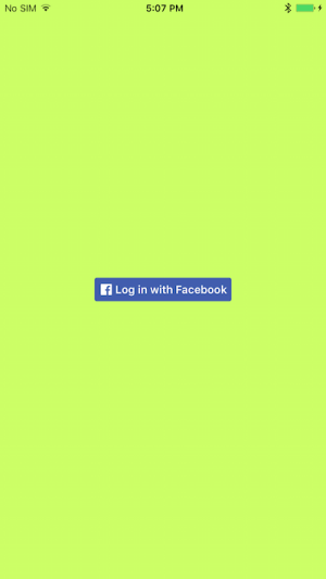 Facebook SDK login