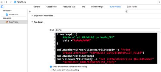 Xcode Build Number