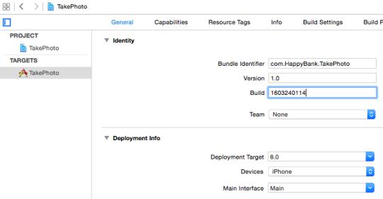 Xcode Build Number2