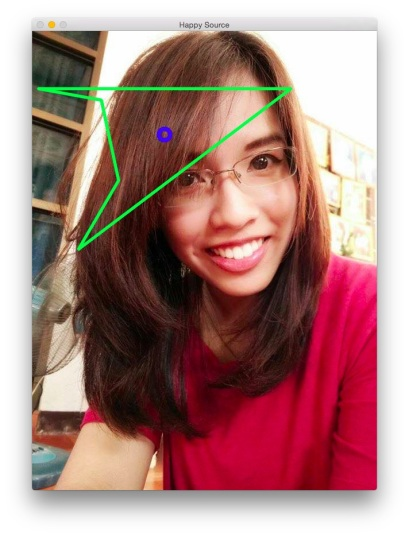 OpenCV 多邊形的重心 Polygon Center of Gravity.jpg