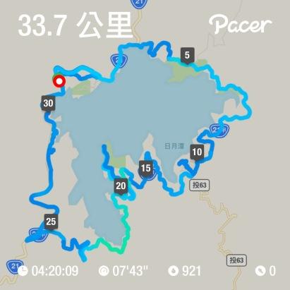 騎公路車環日月潭33公里.JPG
