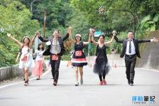 2017年雙溪鐵道馬拉松接力特寫125超慢跑團00022