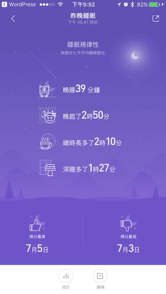 APP 小米運動之睡眠00002