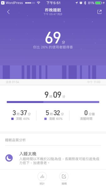 APP 小米運動之睡眠00003