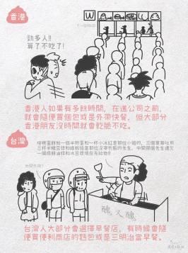 台灣&香港人 打工仔的一天