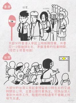 台灣&香港人 打工仔的一天2