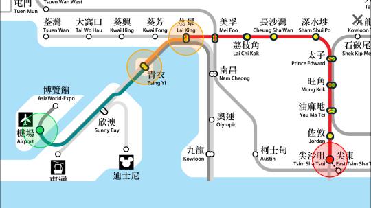 香港地鐵 MTR Mobile App7