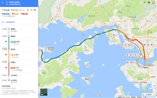 Google Map Hong Kong2