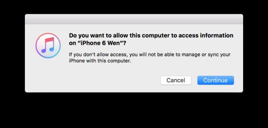 Mac無法存取iPhone1