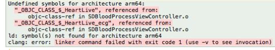 iOS 編譯錯誤問題00006