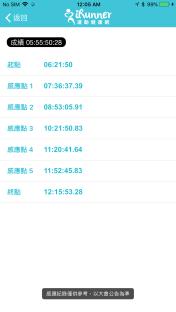 2017 田中馬拉松全馬路線 iRunner app00003