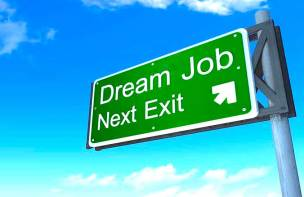 理想工作 dream job
