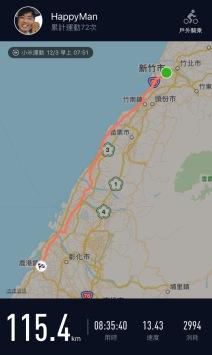 環島小米運動紀錄第2天00001