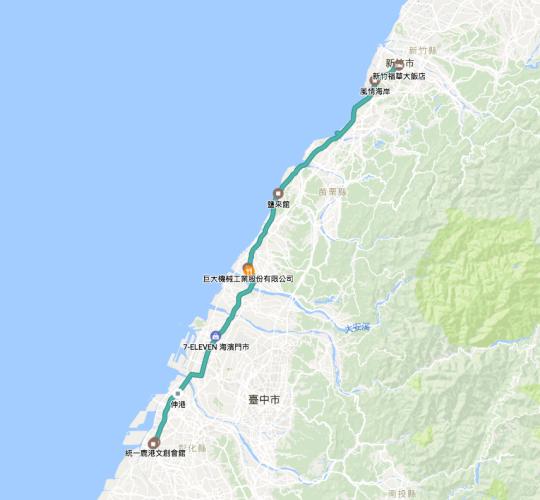 環島行程路徑Google Map00002