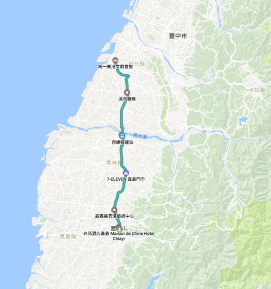 環島行程路徑Google Map00003