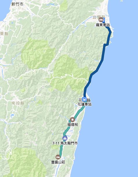 環島行程路徑Google Map00008
