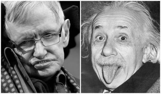 霍金與愛因斯坦