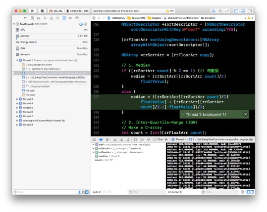 [Xcode] 例外中斷點 (Exception Breakpoint)3