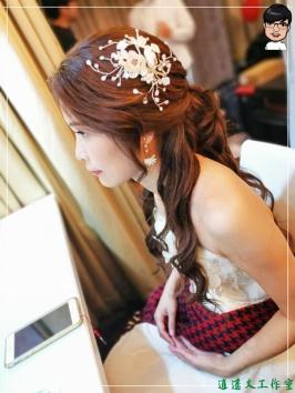 [婚禮] 外拍婚紗之妝髮1