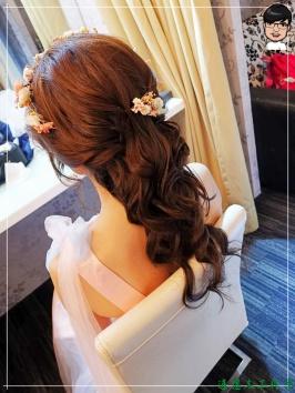 [婚禮] 外拍婚紗之妝髮10