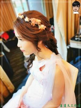 [婚禮] 外拍婚紗之妝髮11