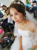 [婚禮] 外拍婚紗之妝髮14