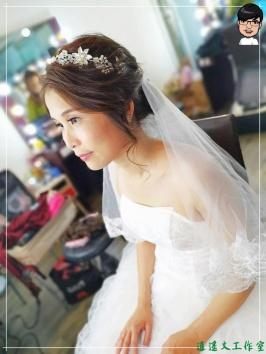 [婚禮] 外拍婚紗之妝髮15