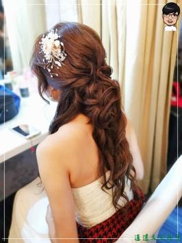 [婚禮] 外拍婚紗之妝髮2
