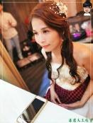 [婚禮] 外拍婚紗之妝髮4