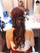 [婚禮] 外拍婚紗之妝髮5