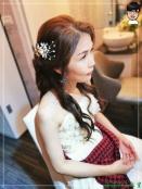 [婚禮] 外拍婚紗之妝髮6