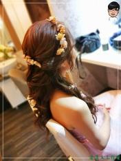 [婚禮] 外拍婚紗之妝髮7