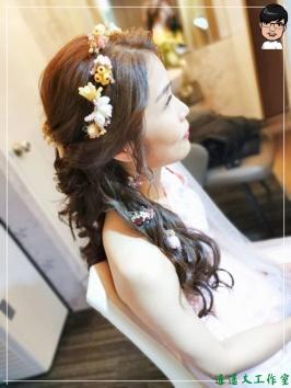 [婚禮] 外拍婚紗之妝髮8