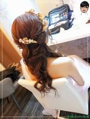 [婚禮] 外拍婚紗之妝髮9