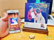 [婚禮] 婚紗木座桌曆13