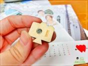 [婚禮] 婚紗木座桌曆8